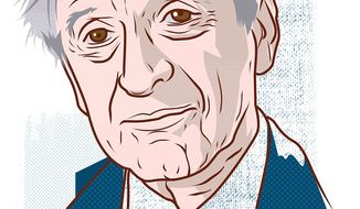 Eli Weisel by Linas Garsys/The Washington Times