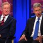 Libertarian presidential nominees Gary Johnson (right) and Bill Weld will be in Washington on Thursday. (CNN)