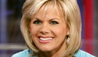"In this May 18, 2010, file photo, TV personality Gretchen Carlson appears on the set of ""Fox & friends"" in New York. Carlson, the former Fox News Channel anchor, is suing network chief executive Roger Ailes, claiming she was fired after refusing his sexual advances. Carlson, 50, spent 11 years at Fox. She was Miss America in 1989. (AP Photo/Richard Drew, File)"