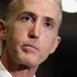 Trey Gowdy. (Associated Press) ** FILE **