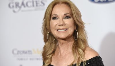 Kathie Lee Gifford was born  in Paris, France, to American parents, Joan, a singer, and Aaron Epstein, a musician and former US Navy Chief Petty Officer. Aaron Epstein was stationed with his family in France at the time of Gifford's birth. Gifford grew up in Bowie, Maryland, and attended Bowie High School. (Photo by Chris Pizzello/Invision/AP)