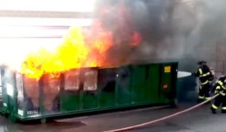 A spokesman for Nebraska Sen. Ben Sasse said he would not attend the Republican Party's 2016 presidential nomination of Donald Trump in order to watch dumpster fires. (YouTube, Andy Dickason)