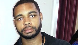 This undated photo posted on Facebook on April 30, 2016, shows Micah Johnson, who was a suspect in the sniper slayings of five law enforcement officers in Dallas Thursday night, July 7, 2016, during a protest over two recent fatal police shootings of black men. An Army veteran, Johnson tried to take refuge in a parking garage and exchanged gunfire with police, who later killed him with a robot-delivered bomb, Dallas Police Chief David Brown said. (Facebook via AP) ** FILE **