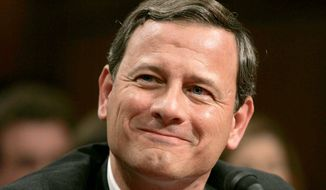 Chief Justice John Roberts. (Associated Press)