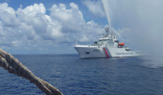 Governments anxiously await a tribunal's ruling on China's territorial claims in the South China Sea, a hotly contested area that may serve as a beachhead against Chinese expansion in the region. (Associated Press)