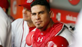 Nationals catcher Wilson Ramos has reason to smile at Tuesday's All-Star Game after overcoming a trade, kidnapping scare, injuries and a death in the family in his career. (Associated Press)