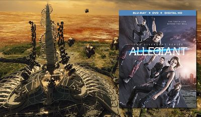 """The new version of Chicago's O'Hare International Airport seen in Allegiant,"""" now available on Blu-ray from Lionsgate Home Entertainment."""