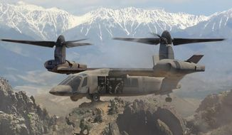 An artist's rendition of the Bell V-280 Valor. (Bell Helicopter)