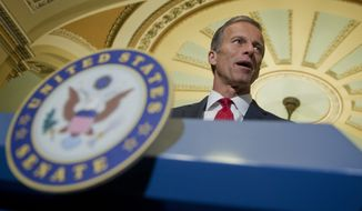 """The Republican-led Congress has stepped in to do what we can by enacting legislation that will expand prevention efforts, help law enforcement fight these illegal substances, and expand treatment options for those seeking help,"" said Sen. John Thune, South Dakota Republican. (Associated Press)"