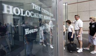 """The U.S. Holocaust Memorial Museum is requesting that smartphone users refrain from """"catching"""" Pokemon when they are inside the museum. (Associated Press/File)"""