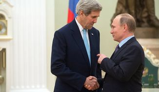 Kerry and Putin