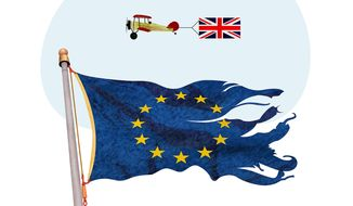 Anti-EU Movement Illustration by Greg Groesch/The Washington Times