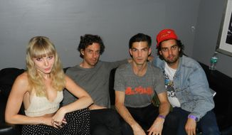 Phases. From left, Z Berg, Jason Boesel, Alex Greenwald and Michael Runion.  (Dave Kapp)