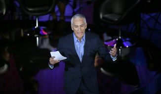 Fusion, which is unabashedly liberal, features anchor Jorge Ramos, who does double duty with Univision and who has pointedly clashed with Donald Trump. (Associated Press)
