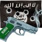 Saudi Handgun Illustration by Greg Groesch/The Washington Times