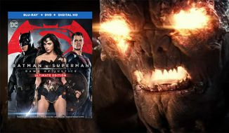 "A new villain interrupts a fight between the Man of Steel and the Dark Knight in ""Batman v Superman: Dawn of Justice, Ultimate Edition,"" now available on Blu-ray from Warner Bros. Home Entertainment."
