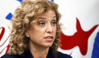 Democratic National Committee chair Congresswoman Debbie Wasserman Schultz said she'll step down Thursday, at the end of the convention, after emails posted by WikiLeaks showed she and fellow DNC staffers disparaged and plotted to derail Sen. Bernard Sanders, the insurgent candidate who forced Hillary Clinton far deeper into the primaries than anyone had predicted. (Associated Press)