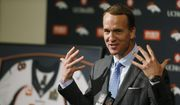 In this March 7, 2016, file photo, Denver Broncos quarterback Peyton Manning speaks during his retirement announcement at the teams headquarters in Englewood, Colo. (AP Photo/David Zalubowski, File)