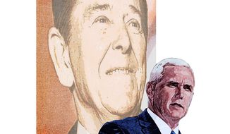 Mike Pence, Conservative Illustration by Greg Groesch/The Washington Times