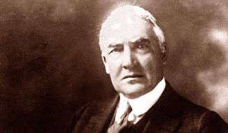Warren G. Harding (Associated Press) ** FILE **
