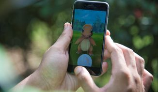 "Imagination: ""This could lead all the way to revolution,"" a senior Russian security official warned about the highly addictive Pokemon Go app. (Associated Press)"