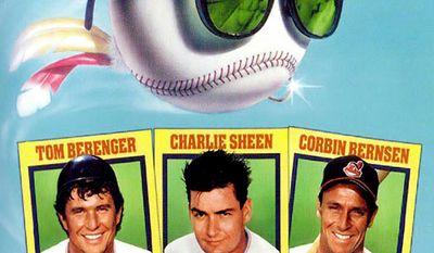 Major League (1989) - The new owner of the Cleveland Indians, former showgirl Rachel Phelps (Margaret Whitton), has a sweetheart deal to move the team to Miami. But to break the lease with the city of Cleveland, ticket sales have to plummet. So Phelps hires the most incompetent players available, including near-blind pitcher Rick Vaughn (Charlie Sheen) and injury-prone catcher Jake Taylor (Tom Berenger). But her villainous tactics accidentally foster a can-do team spirit, turning the Indians into potential winners.