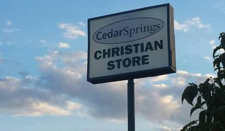 "The Knoxville News Sentinel in Tennessee has apologized to the Christian community after the owners of Cedar Springs Christian Stores complained that their ad was rejected from the paper because of the word ""Christian."" (Facebook/@Cedar Springs Christian Stores)"