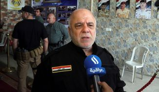 Iraqi Prime Minister Haider al-Abadi is trying to quell a movement of radical Shiite cleric Muqtada al-Sadr. (Associated Press)