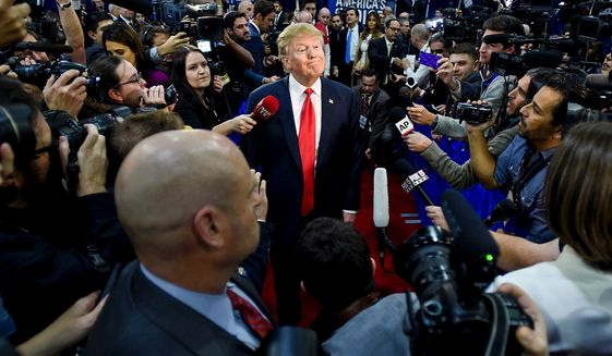 President Trump has a long history of negative press coverage, and it continues after he won the 2016 election a new study finds.  (Associated Press)