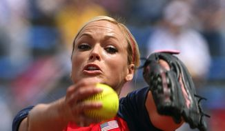 Jennie Finch and the U.S. softball team have beaten opponents by a combined score of 53-1 during these Olympics. (Getty Images)