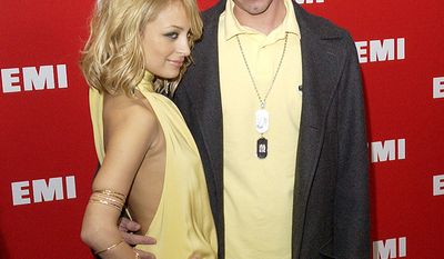 Reality star Nicole Richie and DJ AM dated on-and-off throughout the 2000s and were engaged at one point before calling it quits  (AP Photo/Matt Sayles)