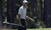 Mr. Obama has played more than 300 rounds of golf during his presidency, the vast majority of them on courses in the immediate Washington area. (Associated Press)