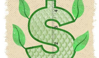 Income Growth Illustration by Greg Groesch/The Washington Times
