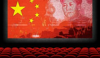 Chinese Takeover of the U.S. Movie Business Illustration by Greg Groesch/The Washington Times