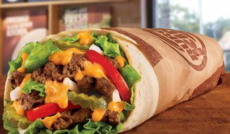 "Burger King unveiled ""The Whopperito"" on Monday, Aug. 8, 2016. The Tex-Mex meal will go on sale Aug. 15. (Burger King)"