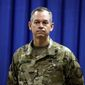 "Lt. Gen. Sean MacFarland said ""questions [about Islamic State strategy] have been answered, not by words, but by deeds  and our approach is paying off."""