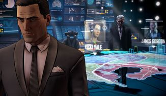 Bruce Wayne stars in the click and play video game Batman: The Telltale Series - Realm of the Shadows.