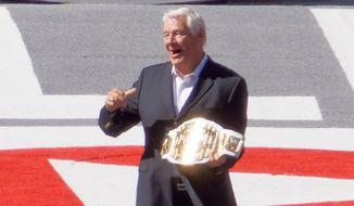 Retired WWE wrestler Pat Patterson first came out as gay in the early 1970s, but his sexuality was not acknowledged publicly or in WWE storylines until the season finale of WWE Legends' House, which aired June 12, 2014. (Wikipedia)