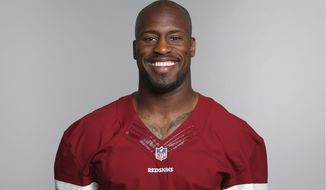 New Redskins tight end Vernon Davis didn't catch a touchdown last season for the first time in his career when he split the year between the 49ers and Broncos. (Associated PRess)