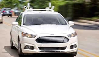 Ford CEO Mark Fields announced on Tuesday, Aug. 16, 2016, that his company plans to have a fully autonomous car ready for the road by 2021. (Ford)