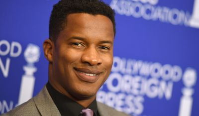 In this Aug. 4, 2016, file photo, Nate Parker arrives at the Hollywood Foreign Press Association Grants Banquet in Beverly Hills, Calif. (Photo by Jordan Strauss/Invision/AP, File)