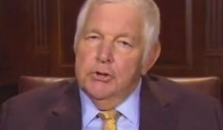 "Conservative commentator Bill Bennett told Fox News on Aug. 18, 2016, that ""Never Trumpers"" suffer from a case of ""moral superiority."" (Fox News screenshot)"