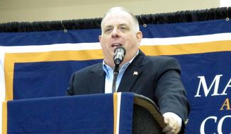 Maryland Gov. Larry Hogan. (AP Photo/Brian Witte) ** FILE **