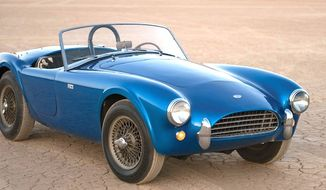 "A 1962 Shelby 260 Cobra ""CSX 2000"" sold for $13.75 million at auction on Aug. 19, 2016. The bid in Monterrey, Calif., set a U.S. record for the most expensive American car ever sold. (RM Sotheby's)"