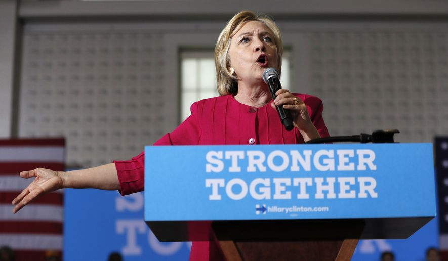At least 85 of 154 people from private interests who met or had phone conversations scheduled with Hillary Clinton while she led the State Department donated to her family charity or pledged commitments to its international programs, according to a review of State Department calendars released to The Associated Press. (Associated Press)