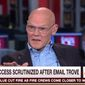"Longtime Clinton ally James Carville said Tuesday that ""somebody is going to hell"" for recent political attacks against the Clinton Foundation. (MSNBC)"