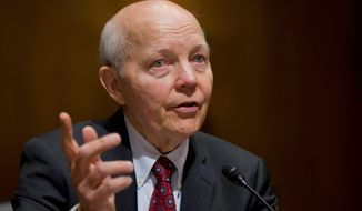 IRS Commissioner John Koskinen said his agency will stop targeting the nonprofit applications of tea party groups, and will process held-up applications. (Associated Press)