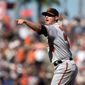 Baltimore Orioles closer Zach Britton is trying to become the first clean reliever to win the Cy Young Award since Dennis Eckersley in 1992. (Associated PRess)