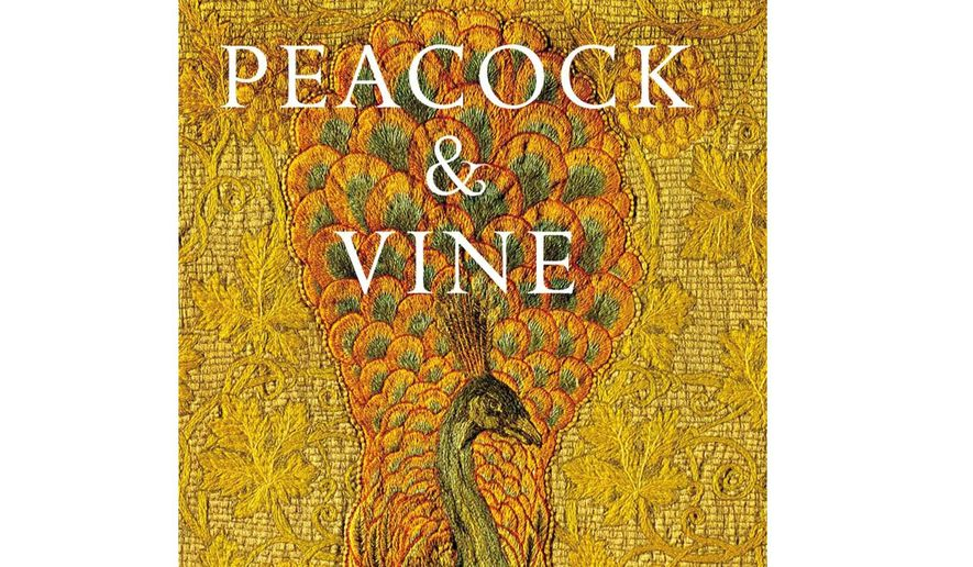 Image result for peacock and vine morris