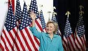 Democratic presidential candidate Hillary Clinton arrives at a campaign event at Truckee Meadows Community College, in Reno, Nev., Thursday, Aug. 25, 2016. (AP Photo/Carolyn Kaster)